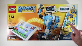 Lego Boost Unboxing (LEGO Boost Creative Toolbox 17101 Fun Robot Building Set for Kids)