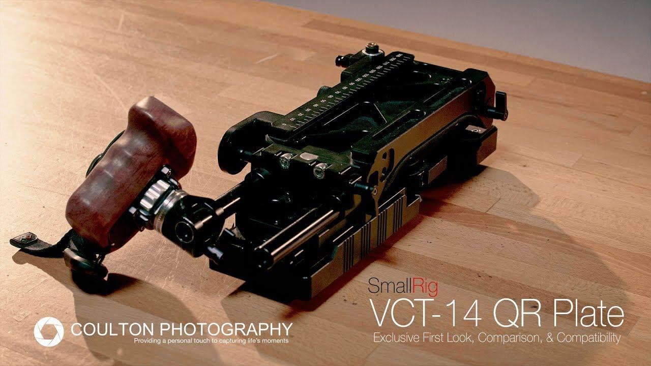 SmallRig 2169 VCT 14 Quick Release Tripod Plate