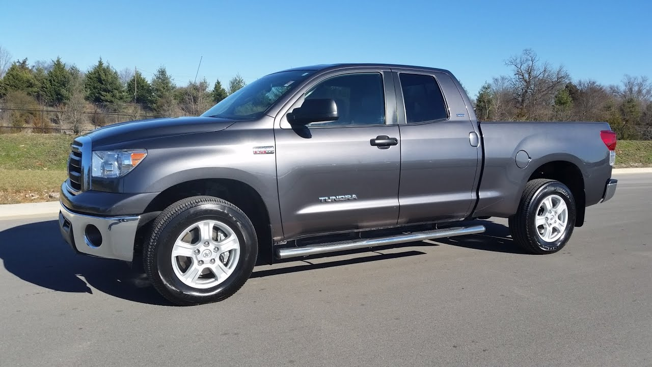 sold. 2013 TOYOTA TUNDRA DOUBLE CAB SR5 4X4 MAGNETIC 6.5 ...