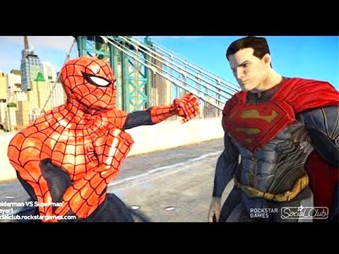 8f4100c4864 Spiderman VS Superman EPIC spider-man - YouTube