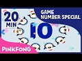 Doo-bi-doo-ba! Let's play with numbers | 20+ Super Fun Number Games | Pinkfong Songs for Children