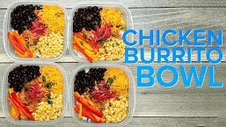 Chicken Tinga Burrito Bowls