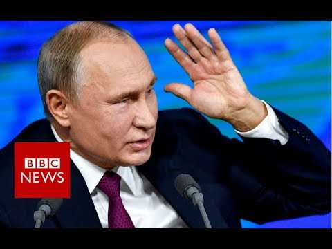 Putin critical of US withdrawal from nuclear deal – BBC News