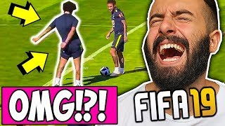 PROVA A NON RIDERE con FIFA 19 ( Glitch & Fails COMPILATION )