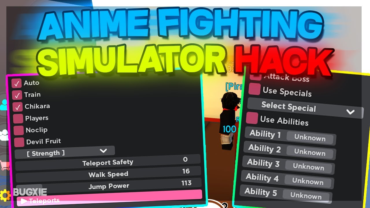 Anime Fighting Simulator Hack Max Stats Auto Farm All Stats Unlimited Chikara More Working Youtube