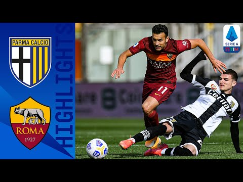 Parma AS Roma Goals And Highlights