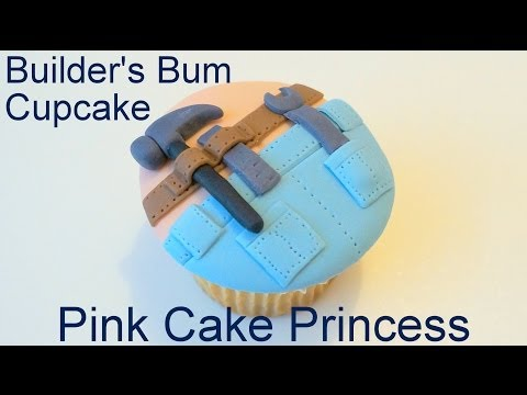 father's-day-cupcake---how-to-make-a-builder's-bum-cupcake-by-pink-cake-princess