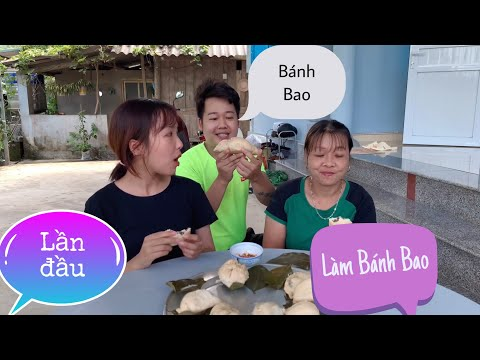 Lần Đầu Han Tự Tay Làm Bánh Bao Mời Mẹ Chồng | Cường Han Couple