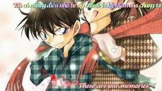 [Vietsub+Kara] A little love - ShinRan Fan club - Detective Conan