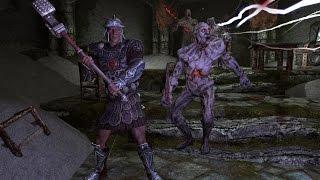 The Elder Scrolls V: Skyrim Марш мертвецов 2 часть - Последний Спуск - Древняя Нордская Кирка