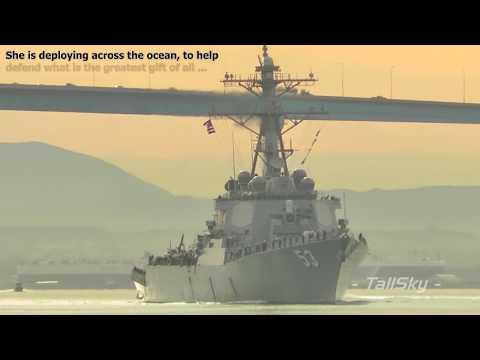 US Navy: USS John Paul Jones (DDG-53) Deployment, November 29, 2011