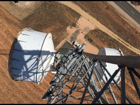 300ft Tower Climbing - Telecommunications Rigger