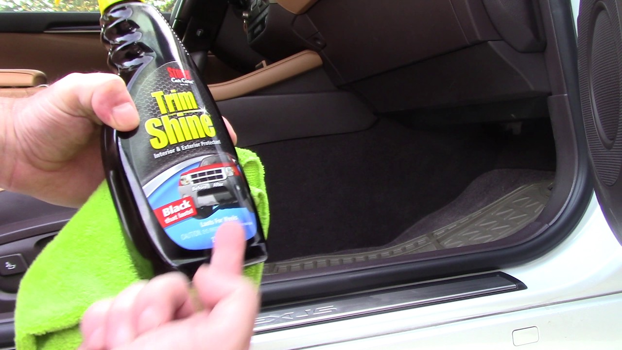cleaning protecting car door seals youtube. Black Bedroom Furniture Sets. Home Design Ideas