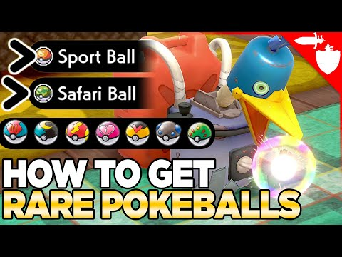 How to Get Rare & Apricorn Balls From Cram-O-Matic - Pokemon Sword and Shield DLC Isle of Armor