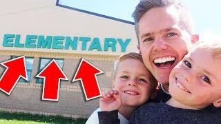 Jackson's NEW SCHOOL!
