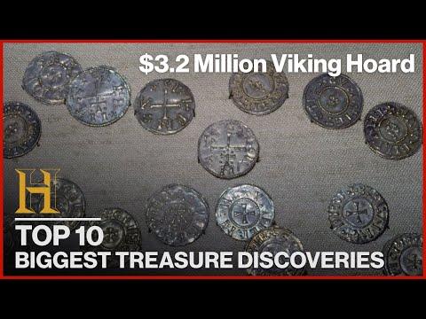10 BIGGEST TREASURE DISCOVERIES | History Countdown