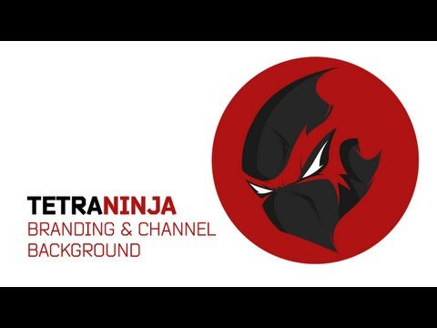 TetraNinja Branding & Channel Art @TetraNinja