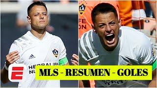 Dynamo 1-1 LA Galaxy. Chicharito Hernández DEBUTÓ y Cristian Pavón hizo un GOLAZO | Goles de la MLS