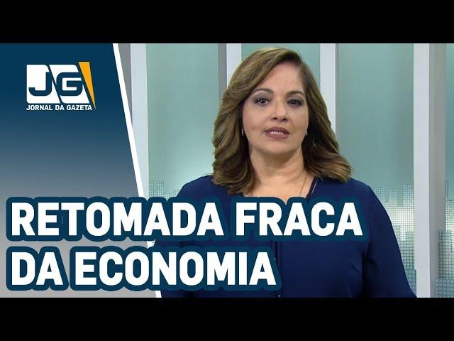 Denise Campos de Toledo / Retomada fraca da economia influencia arrecadação