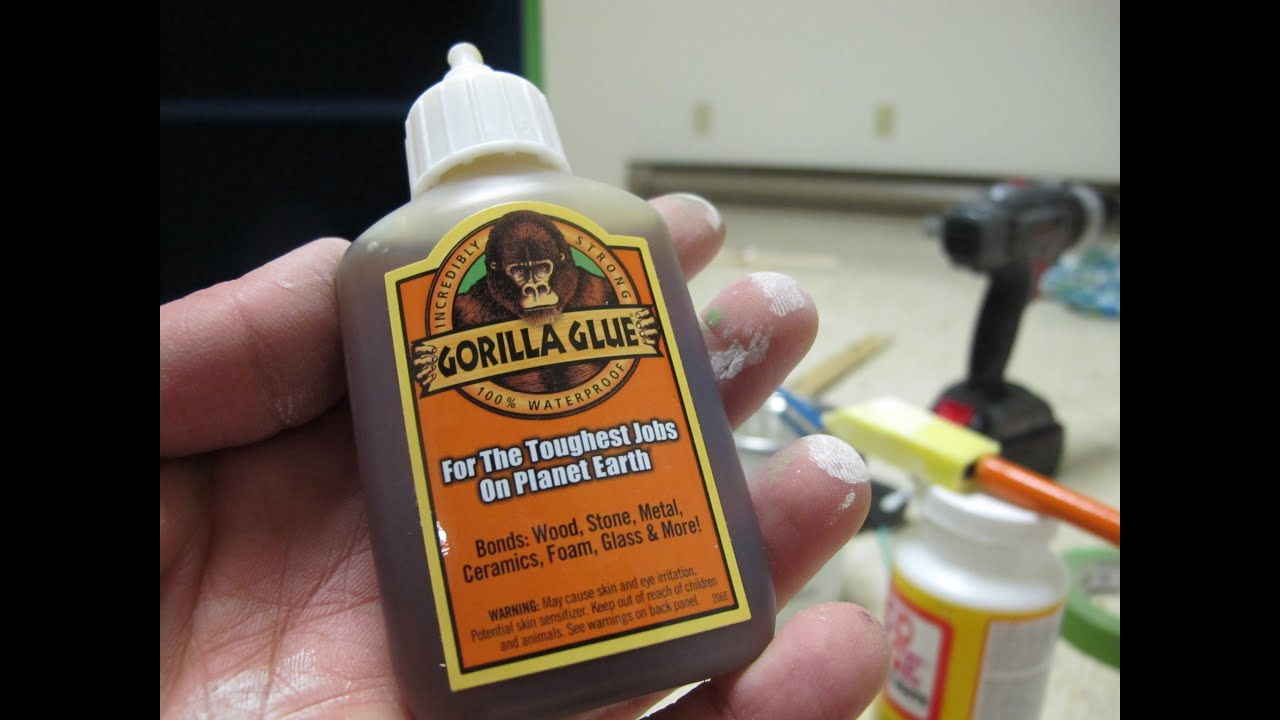 Gorilla Glue Review >> How To Use Gorilla Glue Lessons Learned