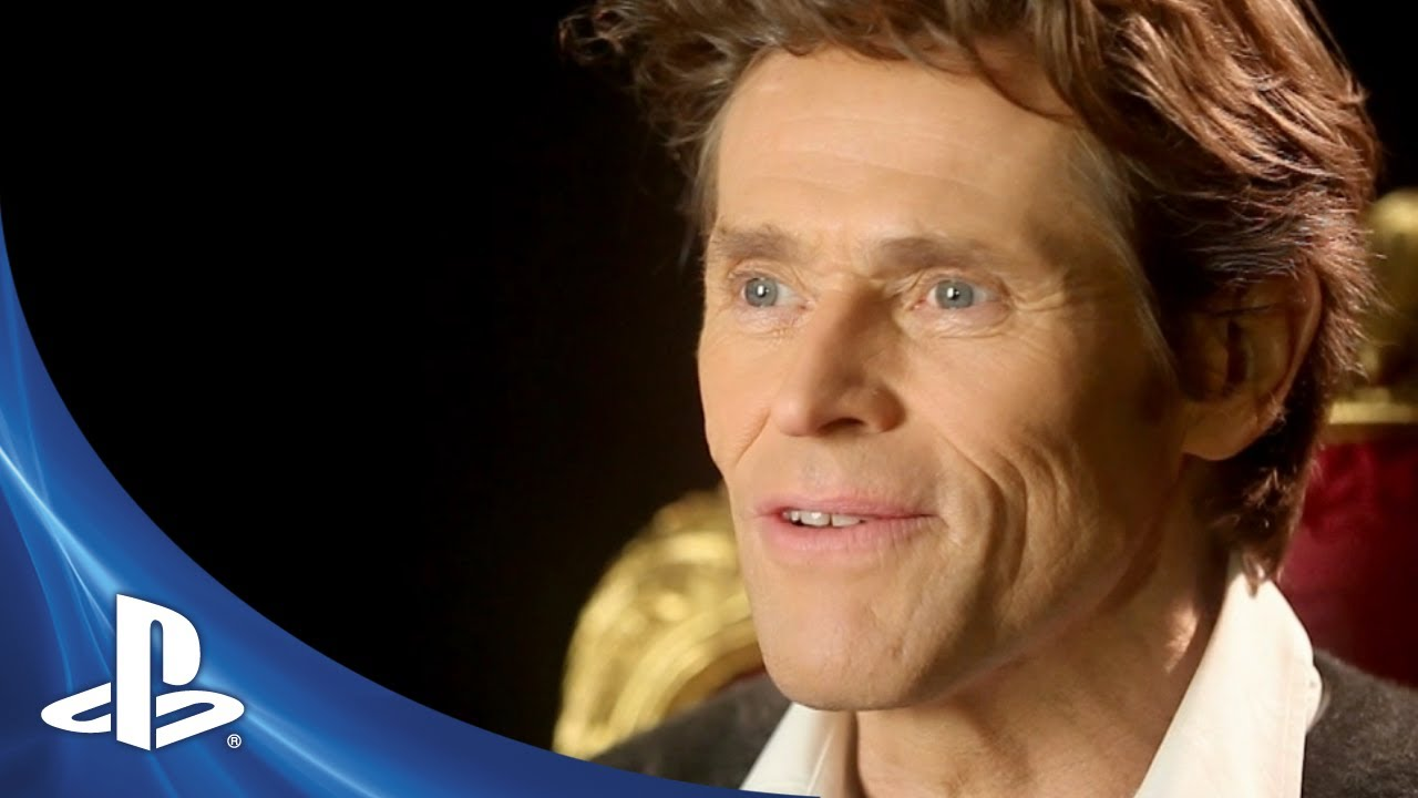 BEYOND: Two Souls Willem Dafoe Behind The Scenes - YouTube