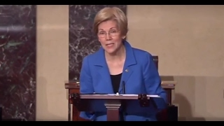 Watch as Senate silences Elizabeth Warren after attacks on Attorney General nominee Jeff Sessions Free HD Video