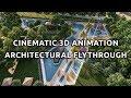 Lumion Animation   Architectural flythrough   3D Animation   National Park Landscape Design