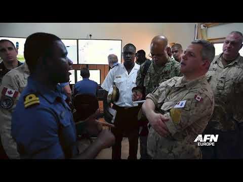 Canadian Royal Navy prepares MOC for Obangame Express 2018