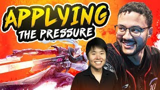 APPLYING THE PRESSURE!! (ft. Disguised Toast) | APHROMOO