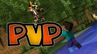 Майнкрафт (Minecraft) Играем в KitPvP на сервере Cristalix PoTH на Кристаликсе#4 | Кожанный шлем