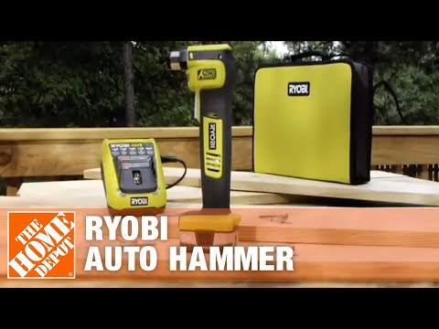 Auto Depot Farmville Nc Inventory >> Ryobi Auto Hammer exclusively at The Home Depot - YouTube