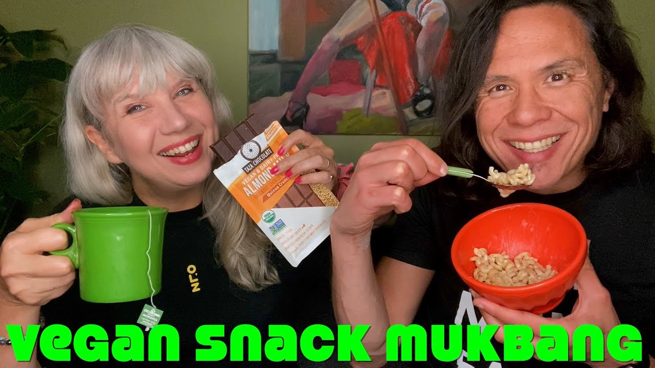 Chill With Us: Vegancuts Snacks Unboxing, Mukbang & Review