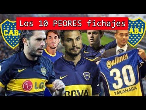 Los 10 peores fichajes de Boca Juniors en toda su historia 🤦♂️