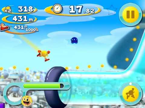 Pac-Man Dash! For IOS Gameplay
