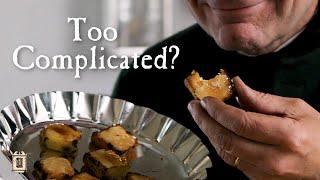 Fried Crème Brûlée Cooked Three Times