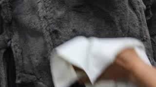 에코퍼 무스탕 라이더 자켓
