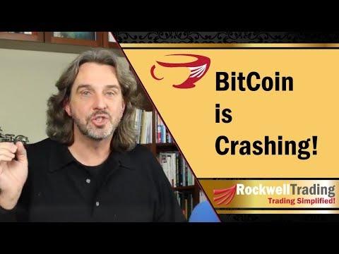 Bitcoin crashing today – Down more than 25%!