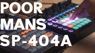 Turn SP-404sx into a SP-404A with a sequencer! - Novation Circuit