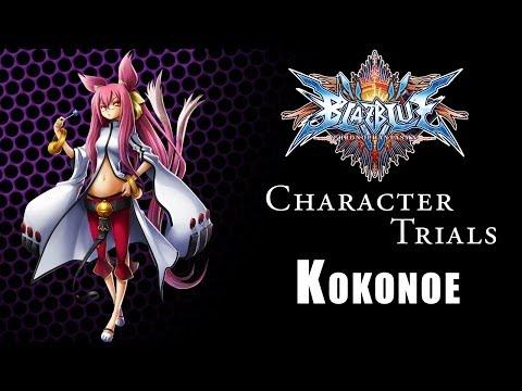 Blazblue Chronophantasma Character Trials : Kokonoe