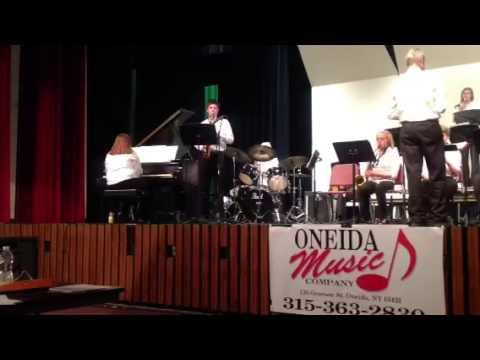 Laurens Central School Jazz Band at Sherburne 2013