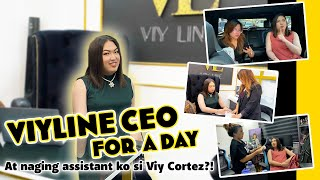 ViyLine CEO for a Day | NAGING INSTANT ASSISTANT KO SI VIY CORTEZ!!! HAHAHA!