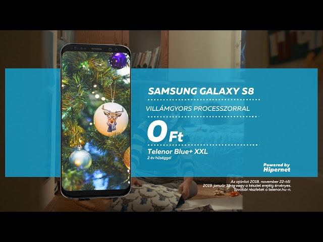 Samsung Galaxy S8 a Telenortól