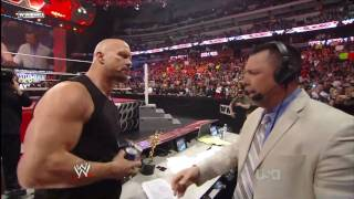Stone Cold Steve Austin Returns to Monday Night Raw (3-7-2011)