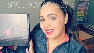 Spicy Subscriptions Deluxe Spice Box April 2014