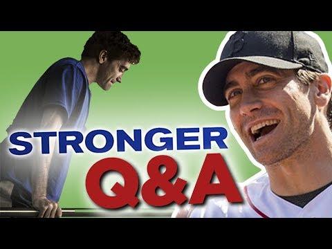 Jake Gyllenhaal Q&A! // STRONGER