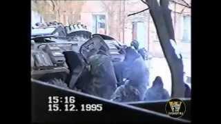 Чечня, Гудермес 1995г. Вологодский ОМОН - 1 часть (бой)