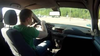 уроки экстремального вождения змейка