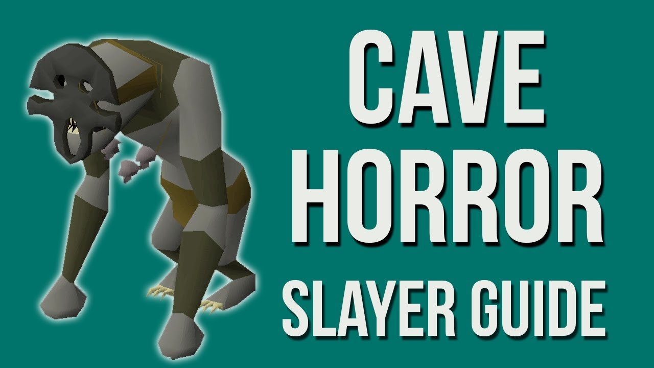 OSRS Cave Horror Guide 2007 - Old School Runescape (April 2018) - YouTube