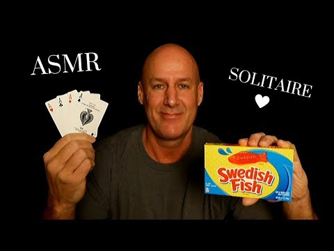 ASMR: Relaxing Solitaire, Swedish Fish And Hi-Chew~Ear To Ear~Soft Spoken