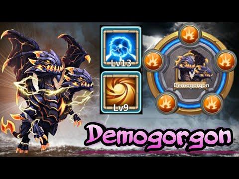 Demogorgon | 13 Skill In Actionn | 30 BT | Full Crit | 9/9 Sacred Light | 8 SS | Castle Clash